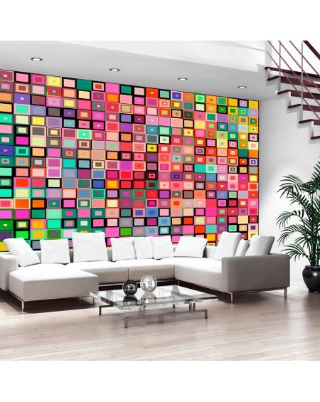 Stenska poslikava Colourful Boxes