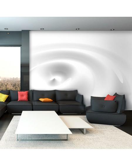 Stenska poslikava White Swirl