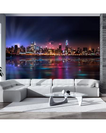 Stenska poslikava Romantic moments in New York City