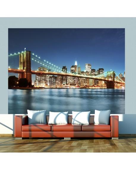 Stenska poslikava Sparkling Brooklyn Bridge