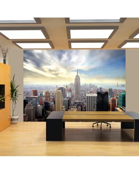 Stenska poslikava - View on Empire State Building - NYC