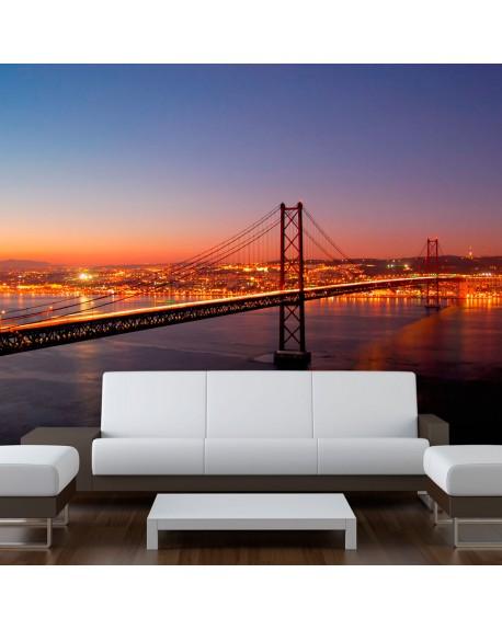 Stenska poslikava Bay Bridge San Francisco