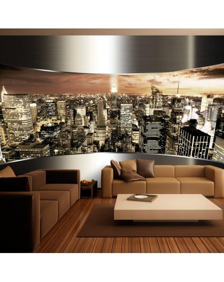 Stenska poslikava Panorama of New York City