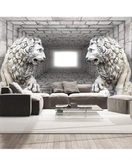 Stenska poslikava Stone Lions