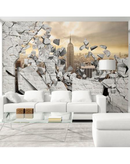 Stenska poslikava NY City behind the Wall