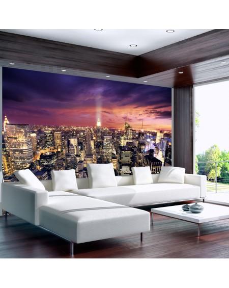 Stenska poslikava Evening in New York City