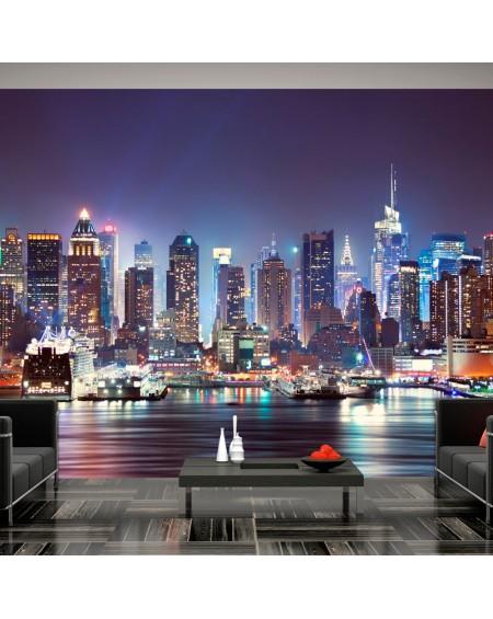 Stenska poslikava Night in New York City