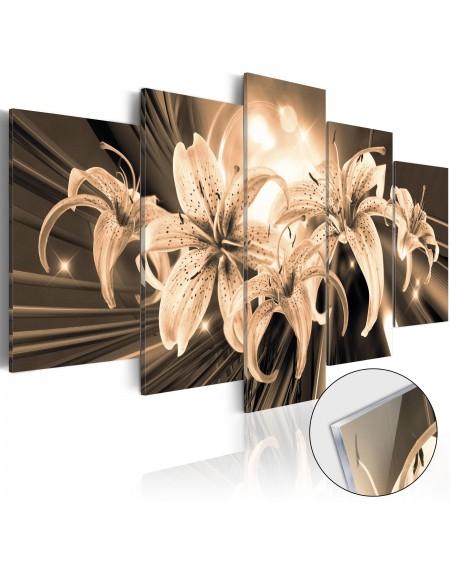 Akrilni tisk Bouquet of Memories [Glass]