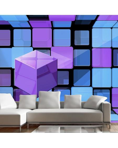 Stenska poslikava Rubiks cube variation
