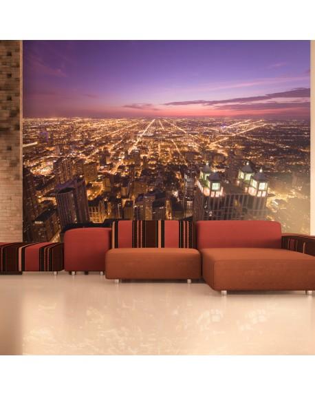 Stenska poslikava Chicago by night