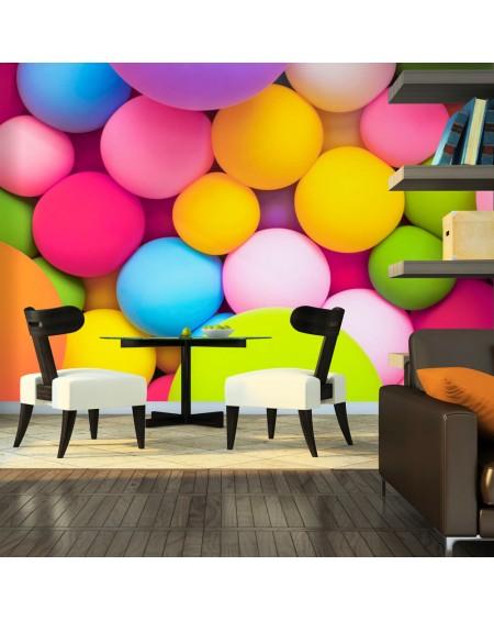 Stenska poslikava Colourful Balls
