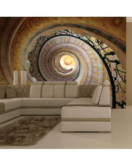 Stenska poslikava Decorative spiral stairs