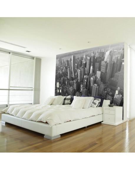 Stenska poslikava New York skyscrapers (birds eye view)