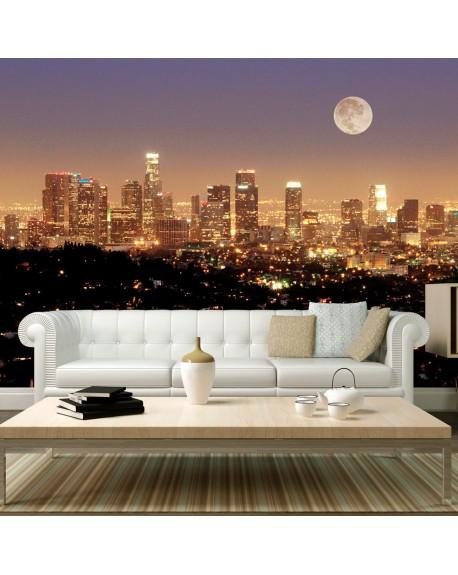Stenska poslikava The moon over the City of Angels