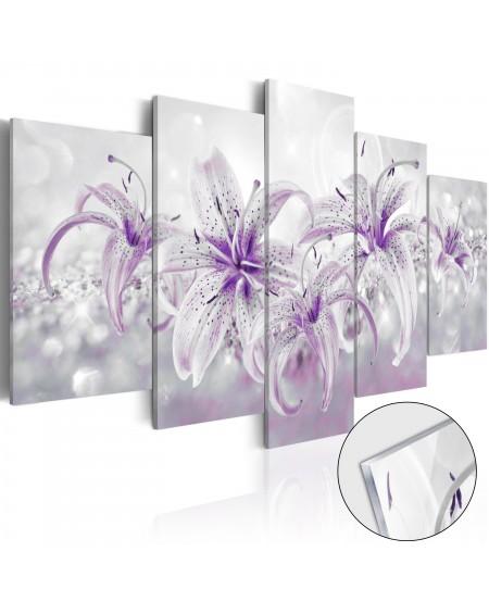 Akrilni tisk Purple Graces [Glass]