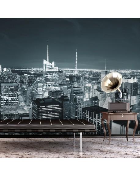 Stenska poslikava New York City nightlife
