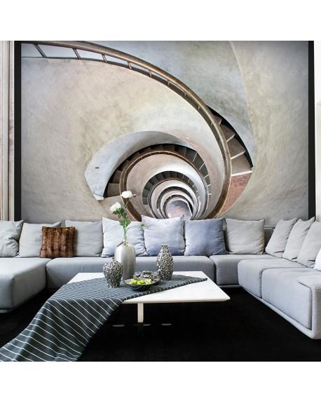 Stenska poslikava White spiral stairs