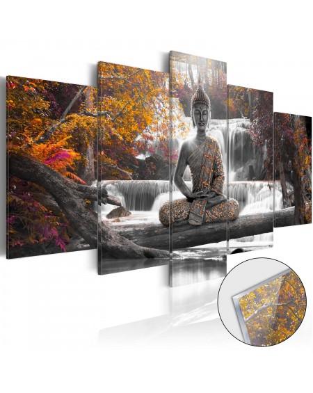 Akrilni tisk Autumnal Buddha [Glass]