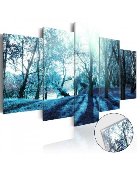 Akrilni tisk Blue Glade [Glass]