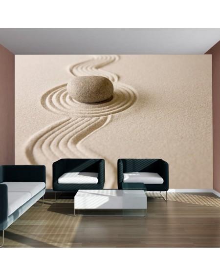 Stenska poslikava Zen sand garden