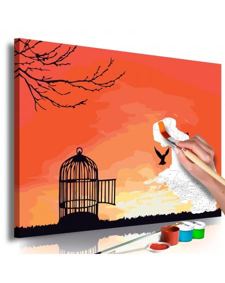 Platno za samostojno slikanje Open Cage