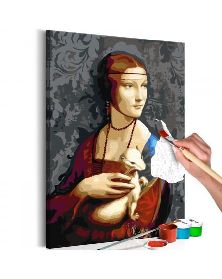 Platno za samostojno slikanje Famous Portrait