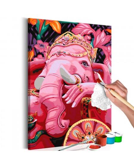Platno za samostojno slikanje Ganesha