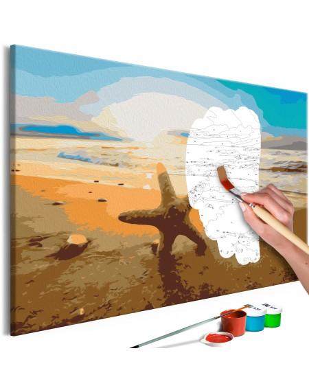 Platno za samostojno slikanje Sea Finds