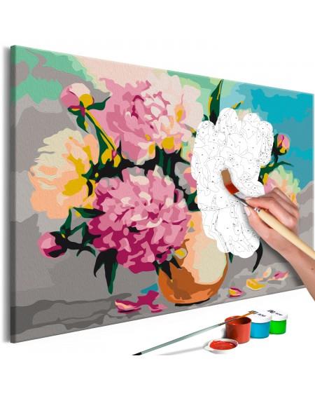 Platno za samostojno slikanje Flowers in Vase