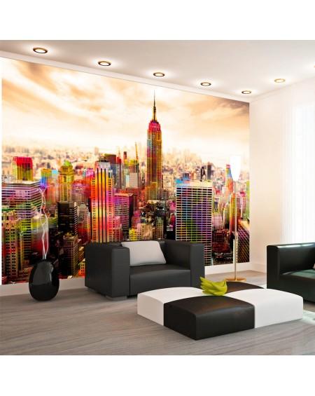 Stenska poslikava Colors of New York City III