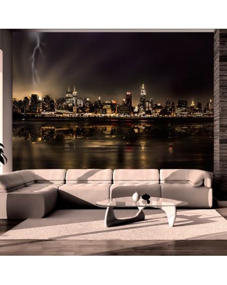 Stenska poslikava Storm in New York City