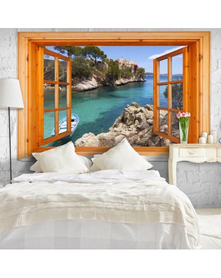 Stenska poslikava Mediterranean Landscape