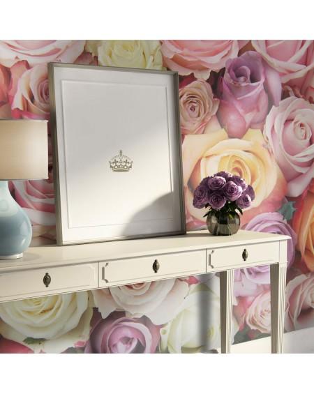 Stenska poslikava - Pastel roses