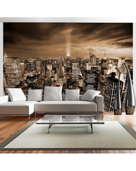Stenska poslikava Nowy Jork night
