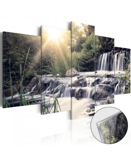 Akrilni tisk - Waterfall of Dreams [Glass]