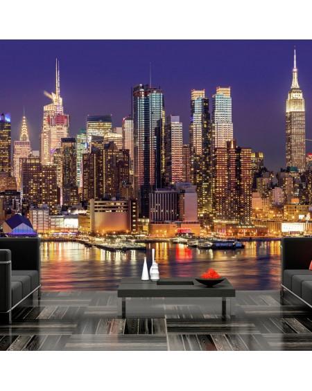 Stenska poslikava NYC Night City