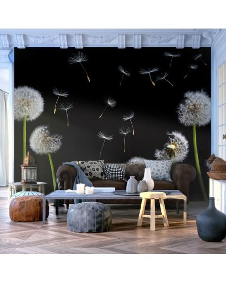 Stenska poslikava Dandelions in the wind