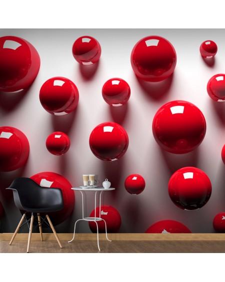 Stenska poslikava Red Balls