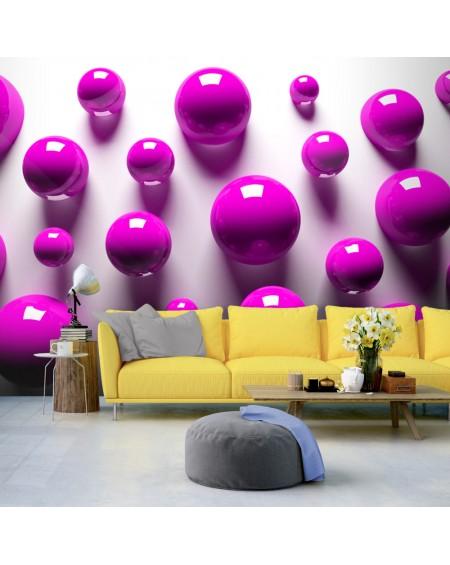 Stenska poslikava Purple Balls