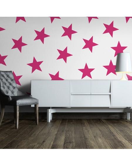 Stenska poslikava Pink Star