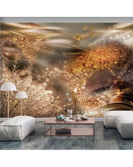 Stenska poslikava Dandelions World (Gold)