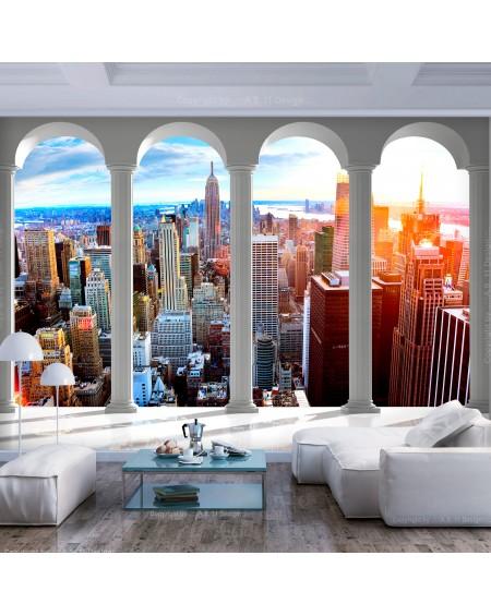Stenska poslikava Pillars and New York