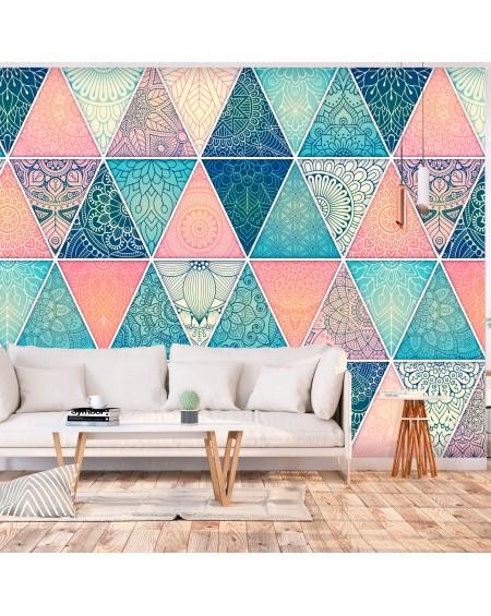 Stenska poslikava Oriental Triangles