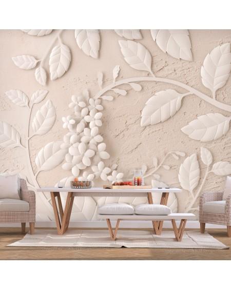 Stenska poslikava Paper Flowers (Beige)