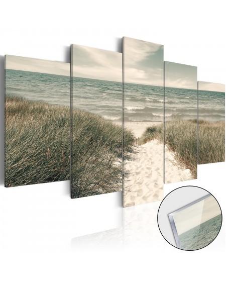 Akrilni tisk Quiet Beach [Glass]