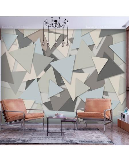 Stenska poslikava Geometric Puzzle