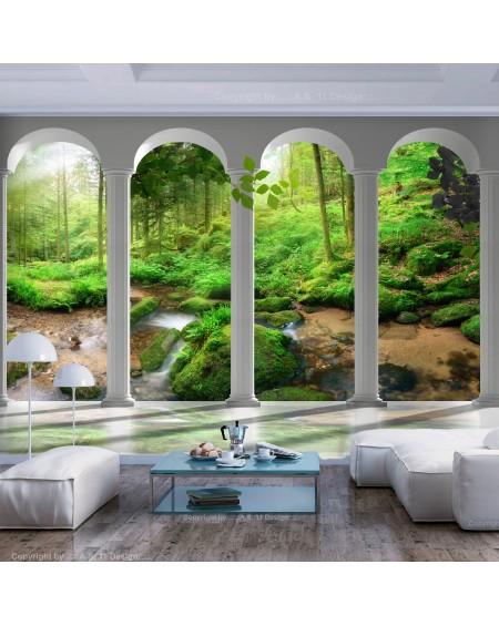Stenska poslikava Pillars and Forest