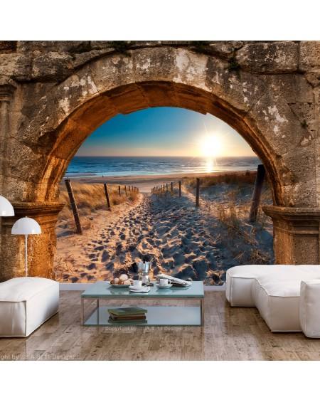 Stenska poslikava Arch and Beach