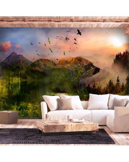 Stenska poslikava Bear in the Mountain