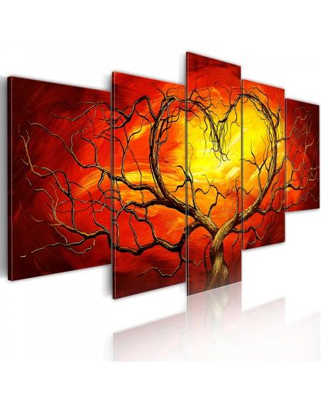 Slika Burning heart